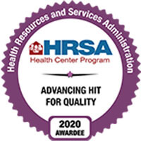 HRSA Advancing Hit For Quality Award Badge